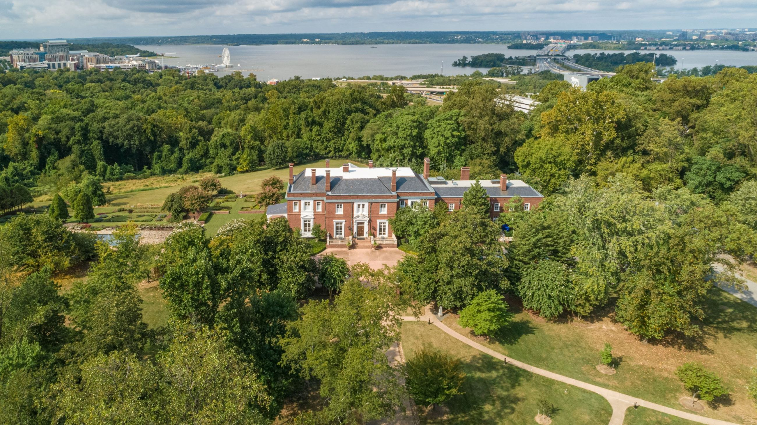 Oxon Hill Manor Aerial