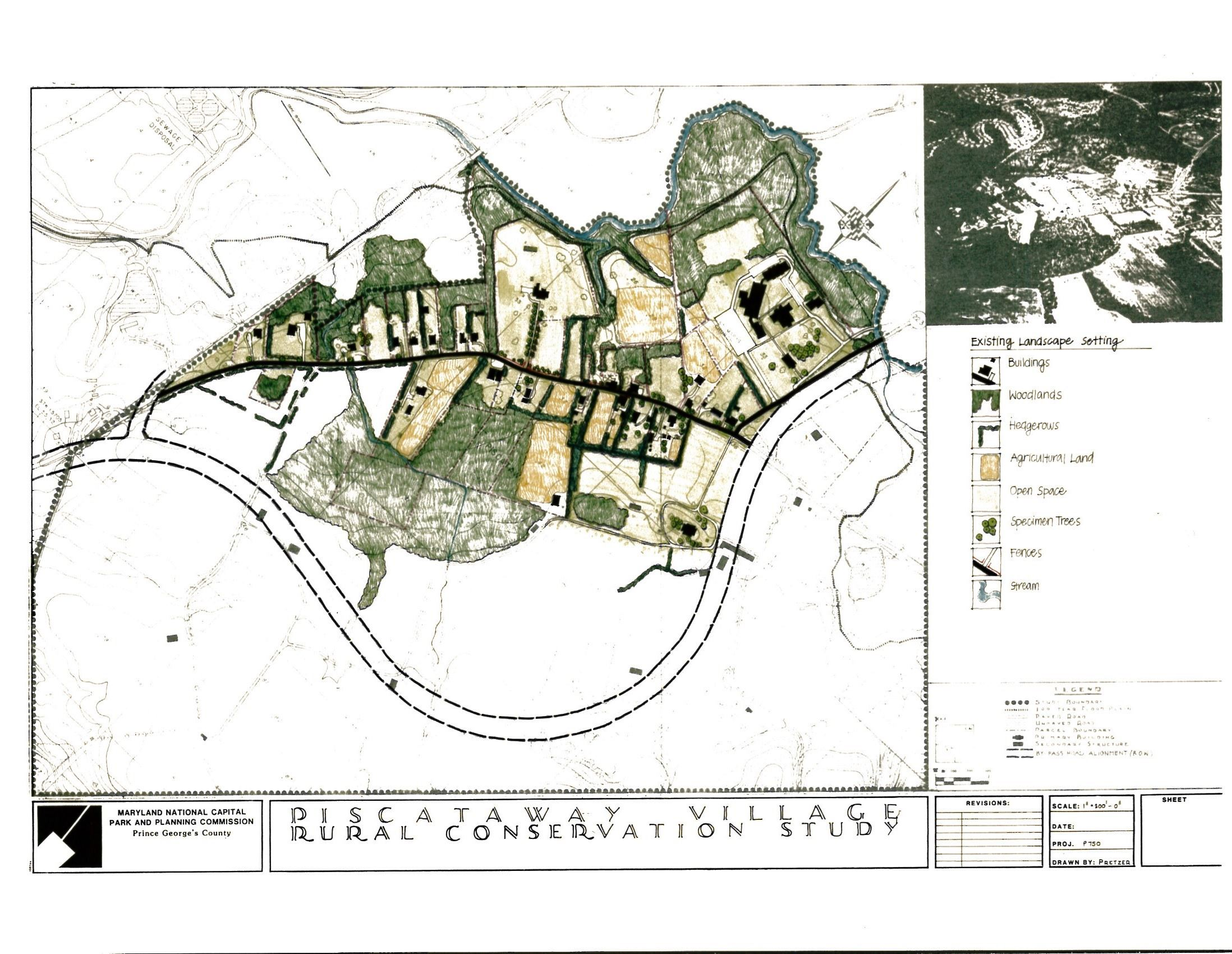 Piscataway Village Rural Conservation Plan Concept