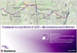 The Purple Line Corridor Access Study (CAST) - Recommendations Report