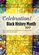 2017 Black History Month Celebration Brochure