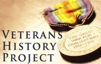 Veteran's History Project Page