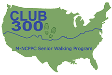 Club 300 Walk Across America logo