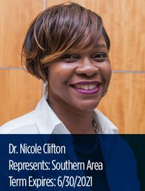 Headshot of Nicole Clifton, representative of Southern Area on Parks and Recreation Advisory Board